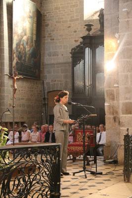 Mme Isabelle David, préfet de l'Orne