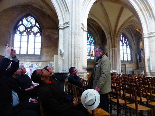 Visite commentée de la basilique par Jean Fleur...