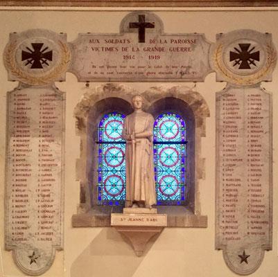 à l'église St Pierre de Montsort