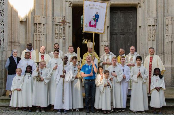Les Petites Soeurs de Sainte Thérèse (Maison Martin) ne sont pas oubliées.