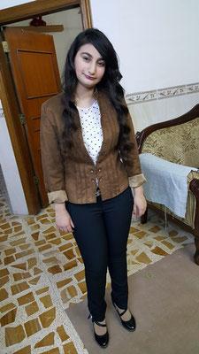 Hanan, 14 ans,  la fille aînée