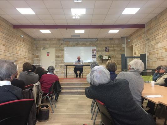 Conférence improvisée du P. Roland, o.m.i. (oblat de Marie Immaculée)