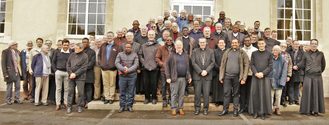 Le presbyterium de Séez le 16 avril 2019