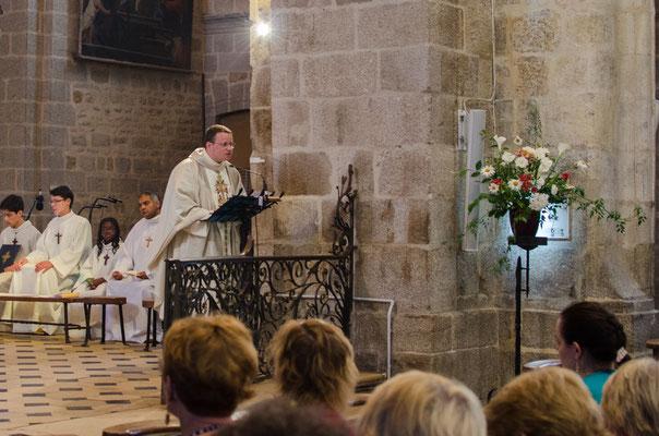 Remerciements par le P. Jean-Marie Simar, recteur du sanctuaire