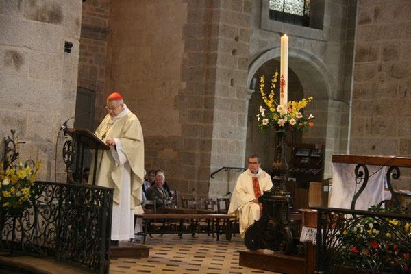 Homélie donnée par Son Eminence