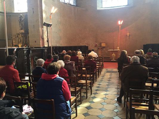 Le chapelet médité avec Pierrick notre séminariste