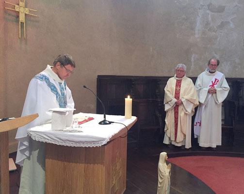La messe de l'Annonciation présidée par Mgr Louis