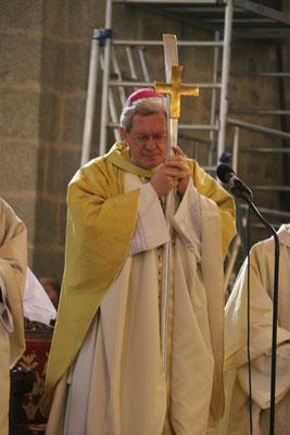 Messe présidée par Mgr Benoit-Gonnin...