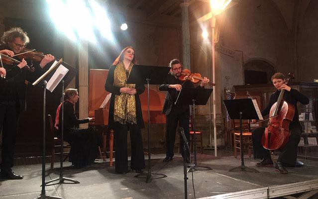 les Cantates Spirituelles de Nantes créé en 2014 qui réunit les meilleurs musiciens baroques de l'Ouest.