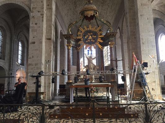 Gros préparatifs pour le grand concert avec le « Requiem Imaginaire » de Jean-François Zygel,