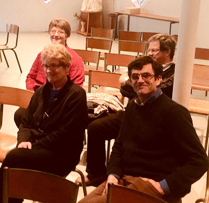 Merci à l'équipe de sainte Thérèse qui nous a comme d'habitude très bien accueilli : Gérard, Janine, Jean-Yves et Annick