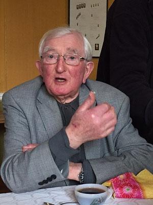 P. André Cousin. Il réside actuellement sur Larré. Avec le P. Henri Lesellier, ce sont les doyens (plus de 90 ans).