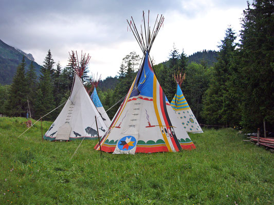 Das Tipi-Camp
