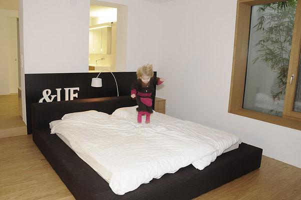 Schlafzimmer  <br> © Foto Sandra