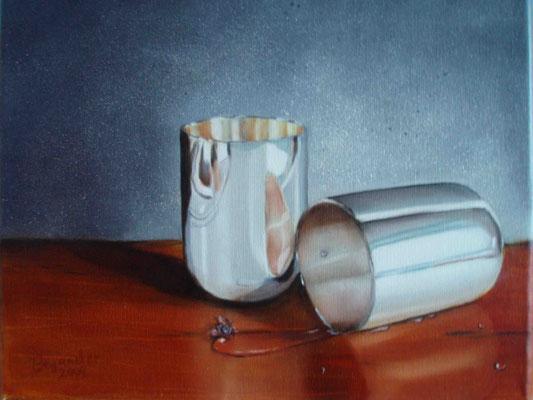 """Die Neige"" - Öl auf Leinwand, 24 x 30, 2009"