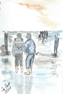 Cuxhaven Ebbe, Skizze