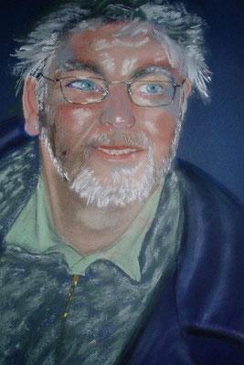 """""""Markus"""" - Pastell 40 x 30, 2004"""