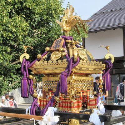 銀座会の神輿