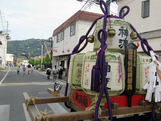 稲荷会の神輿