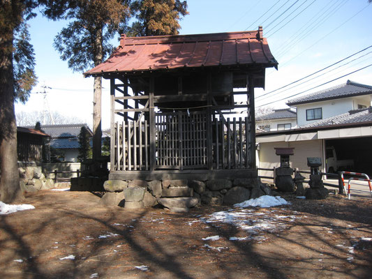 新海社の本殿