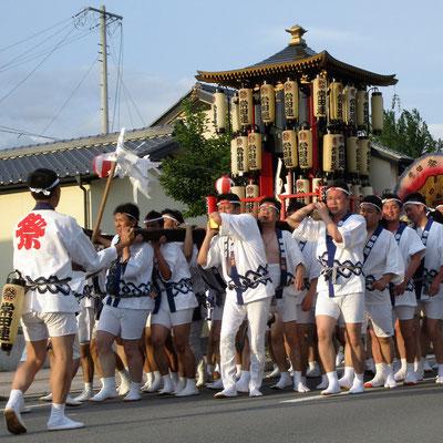 常田の神輿