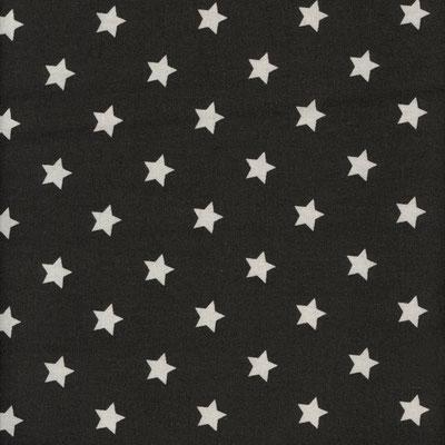 schwarz mit mittleren sternen
