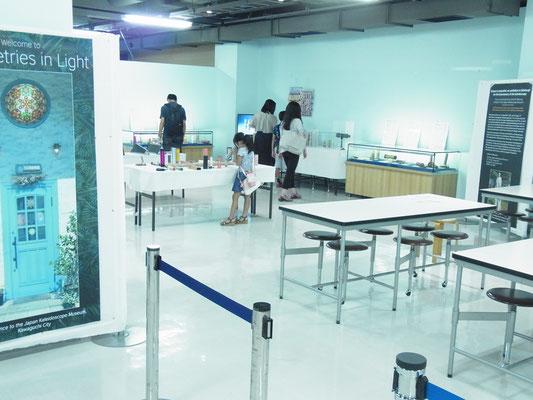 科学技術館三階イベントスペースです。