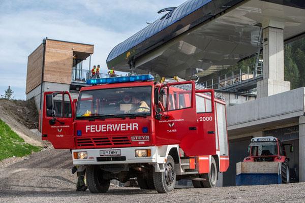 TLF am Übungsort-Bergstation 10EUB Glungezer1