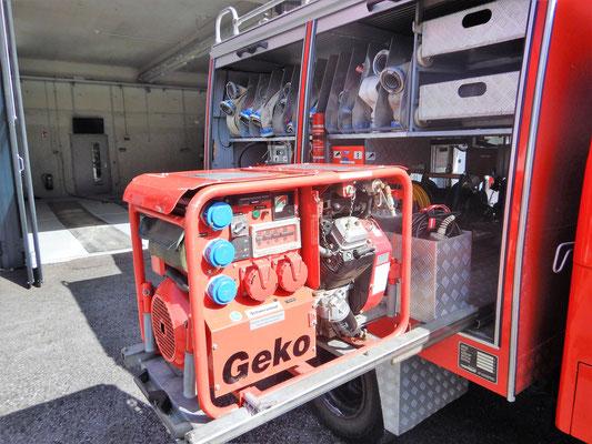 Stromerzeuger Geko