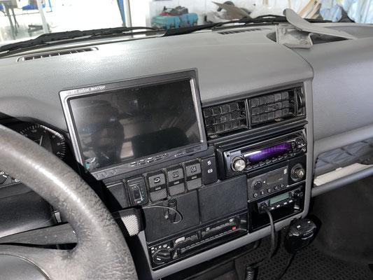 VW T4 - Halterung für Zusatzdisplays im Cockpit - 3D-Druck