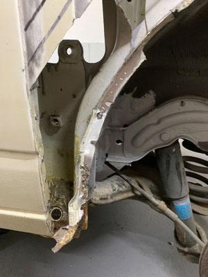 VW T4 - Radlauf hinten
