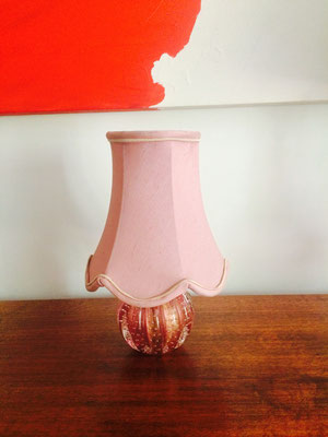 Murano Lamp with shade Circa 1950s  H 330 x D 200 mm Price $ 195.00