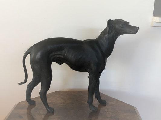Bronze Greyhound (Side View 2)  | H:290 x W:310mm | Price: $960.00