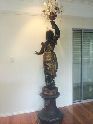 Ventian Blackamoor   circa 1830   $ 21,795.00