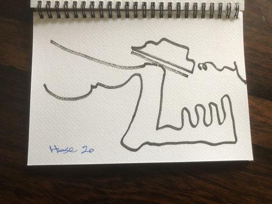 "Artist: Roger Hose | ""Irony I"" | 2020 | Price: $50.00"