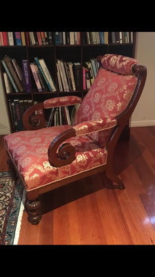 Walnut Library Chair | Circa 1860 | Price: $890.00