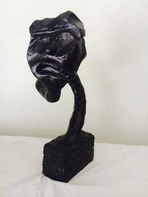 "Artist: Roger Hose | ""Self Portrait I"" 