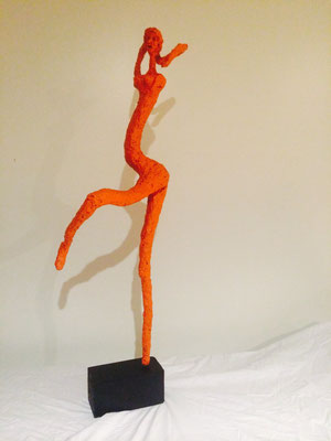 "Artist: Roger Hose | ""Orange Ballerina"" 