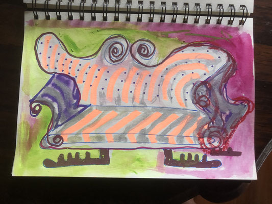 "Artist: Roger Hose | ""Chaise"" 