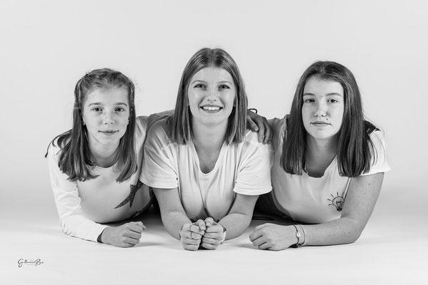 Guillaume Rous Photographie - Portrait famille - Les trois soeurs