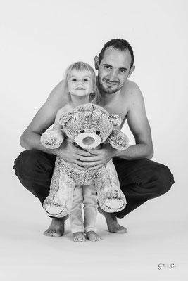 Guillaume Rous Photographie - Portrait duo - Père et fille