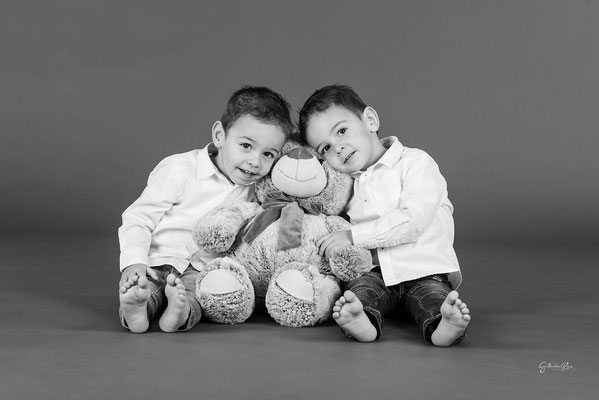 Guillaume Rous Photographie - Portrait duo - Jumeaux