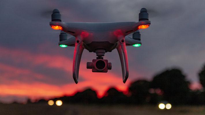 profesionnelöe Luftaufnahmen