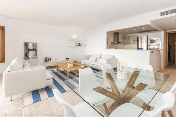 El Higueron Benalmadena Andalusien Wohnzimmer