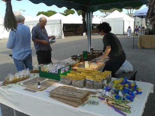 Agosto: festa della Chianina - prodotti di lavanda