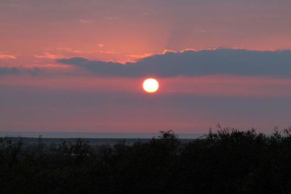 Aprile: tramonti
