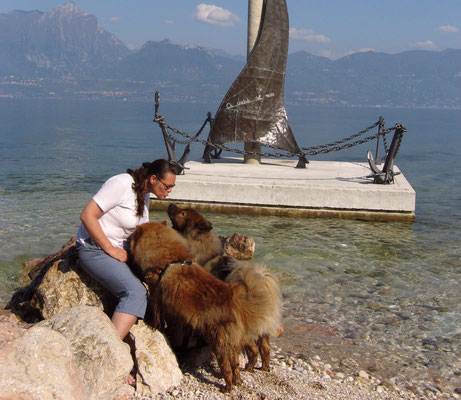 Urlaub mit Arras & Shiwa am Lago di Garda (2006)