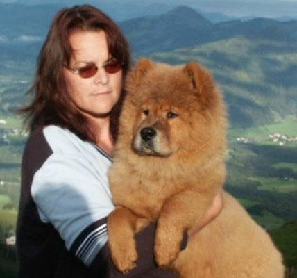 Shiwa mit 4 ½ Monaten (Herbst 2002, Kitzbüheler Horn)