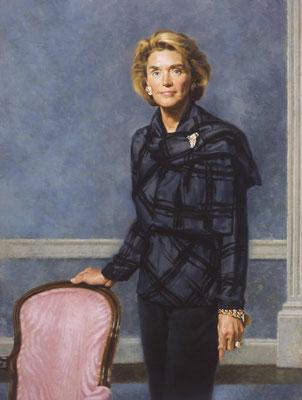 Louise (portrait in oil by Peter Schaumann)