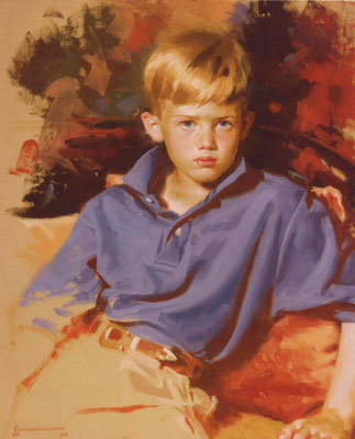 Daniel (portrait in oil by Peter Schaumann)